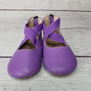 Monkey Feet Toddler Flat Size 12-18M